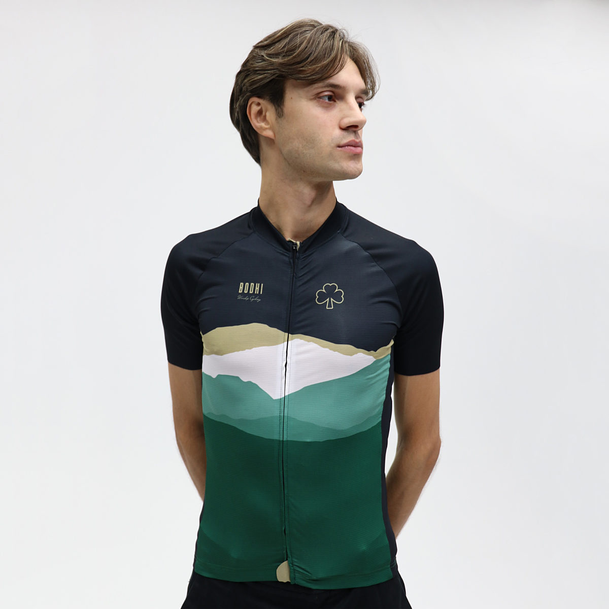 Bodhi cycling collection cotter men front