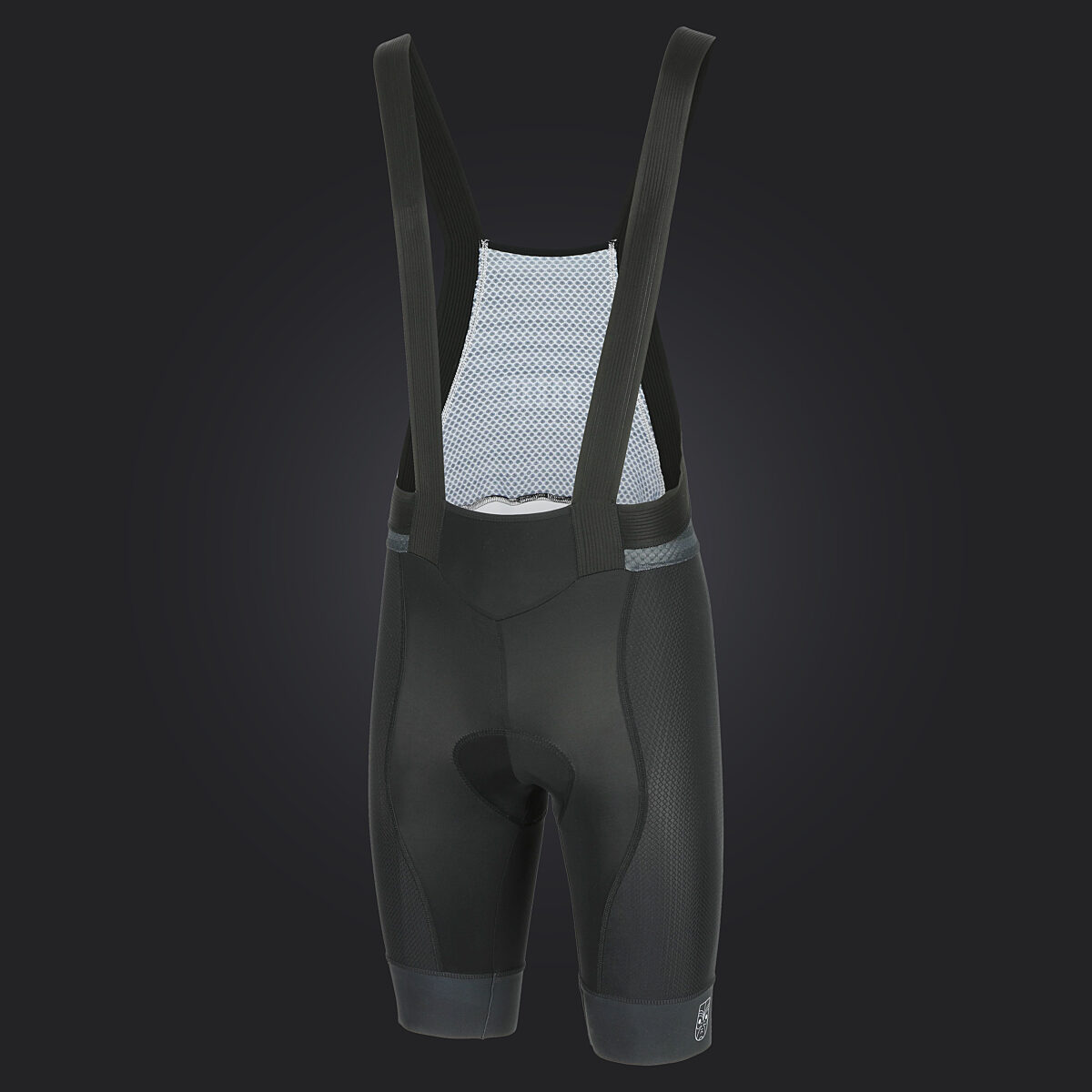 Bodhi cycling custom black eye bib short