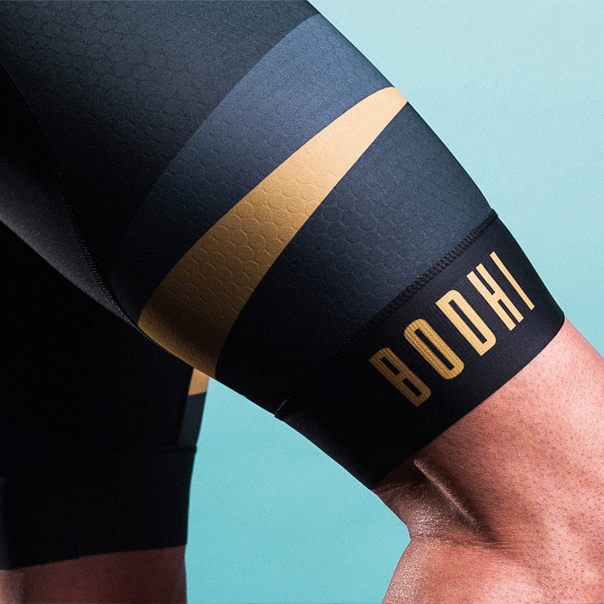 Bodhi cycling golden eye men bib short
