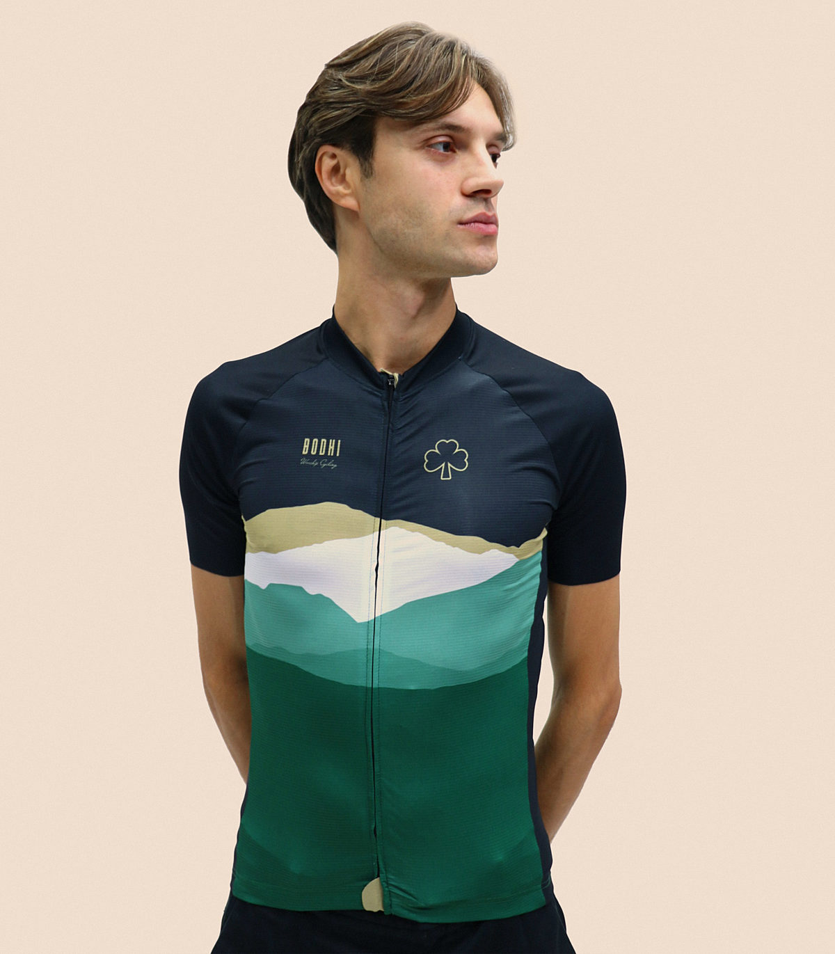 Bodhi cycling collection cotter men front copy