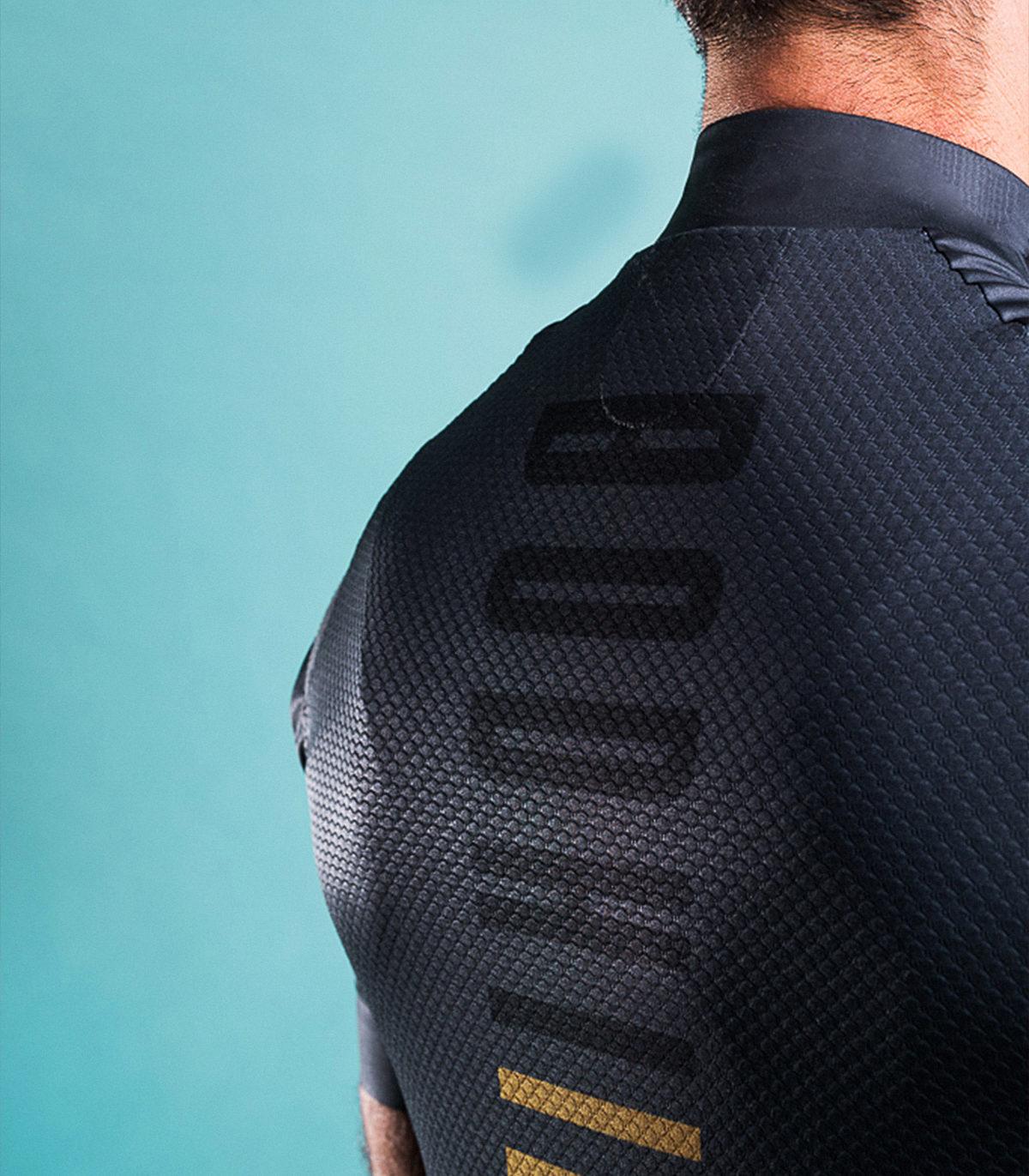 Bodhi cycling custom teamwear lucca back