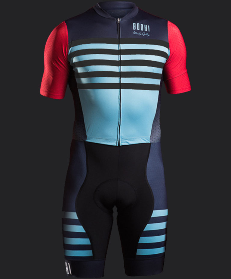 Bodhi cycling custom racesuit men